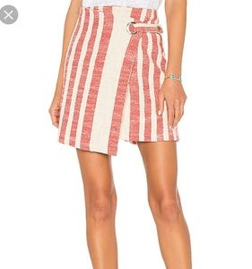 NWT Free People It's A Wrap Skirt